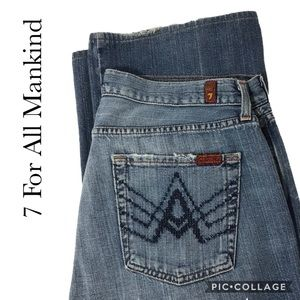 """7 for all Mankind """"A"""" pocket size 33"""
